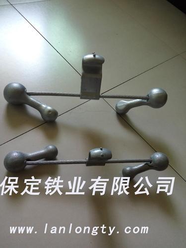 导线、地线、预交式防震锤的安装方式介绍
